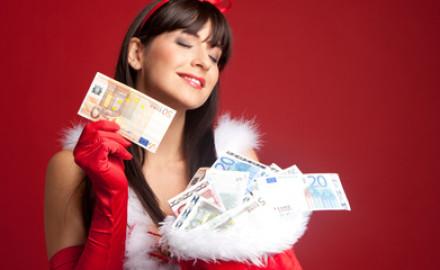 Lotto 6 aus 49 zu Weihnachten
