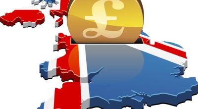 Großbritannien Karte als Spardose
