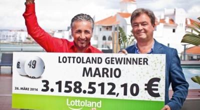 Lottoland-Gewinner Mario